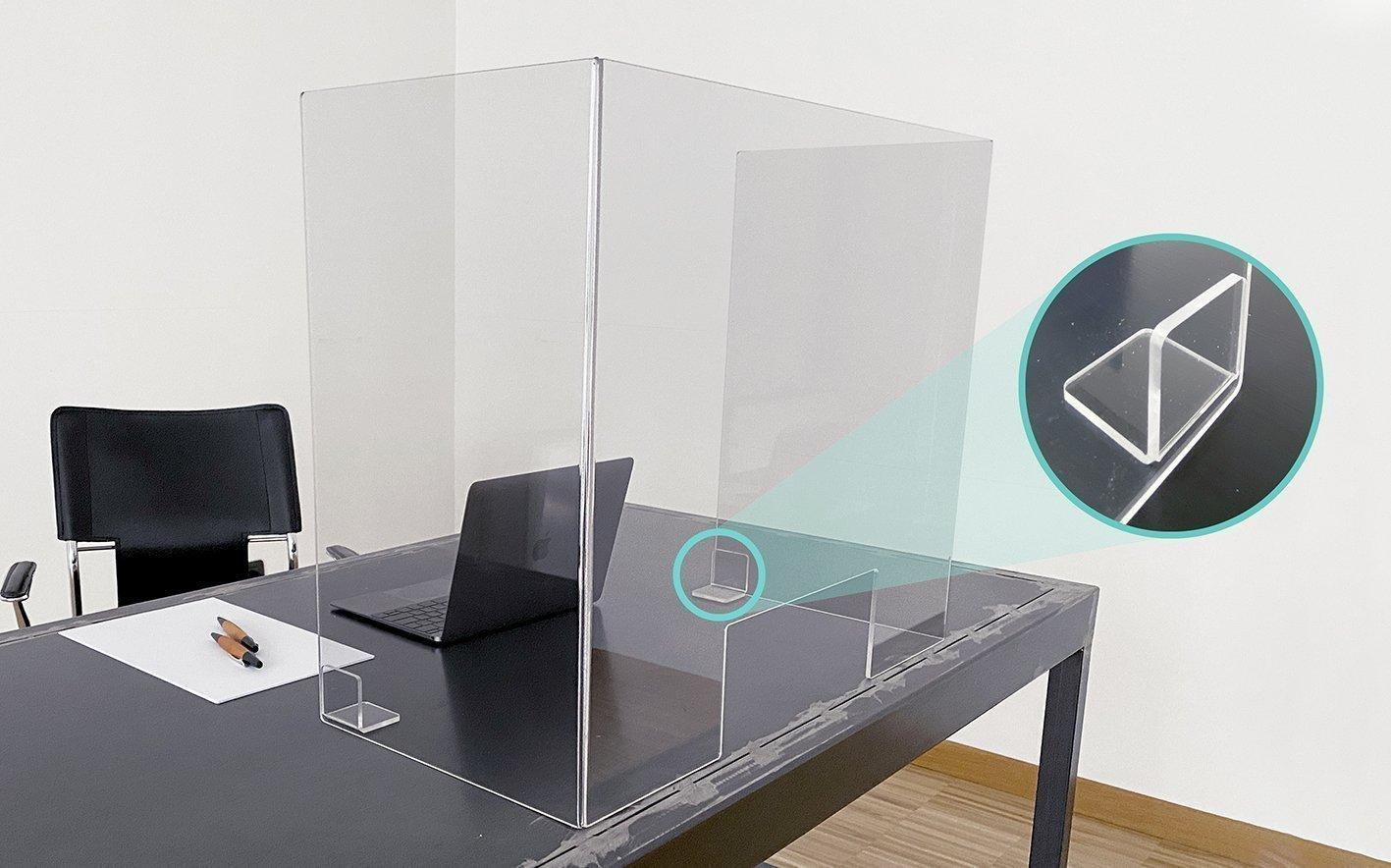 Divisori In Plexiglass Per Esterni barriere parafiato in plexiglass da scrivania